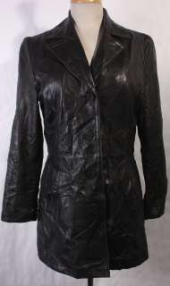 WOMENS NINE WEST SOFT LEATHER VERY CUTE JACKET/BLAZER sz M