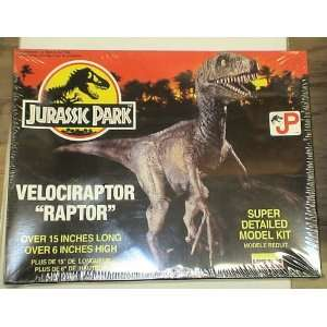 JURASSIC PARK VELOCIRAPTOR MODEL KIT MIB Everything Else