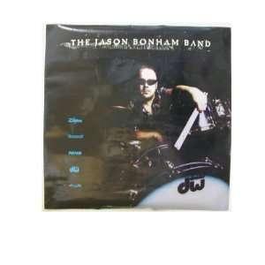 Jason Bonham Band Poster 2 sided Led Zeppelin John Son