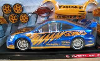 Hot Wheels Tunerz Customize Acura RSX Blue Car 118 HL1