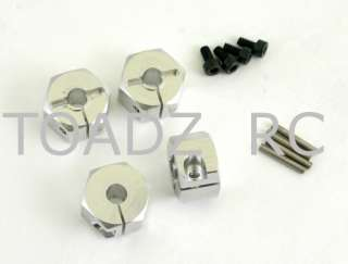 Mini Rock Crawler, Aluminum Wide 12mm Hex Adaptors SI