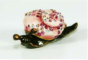 JAY STRONGWATER FLORA & FAUNA ADELLE SNAIL BOX NEW