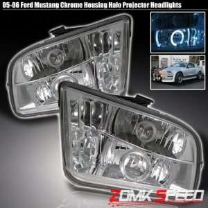 05 06 07 Ford Mustang Euro Halo Projector Headlights