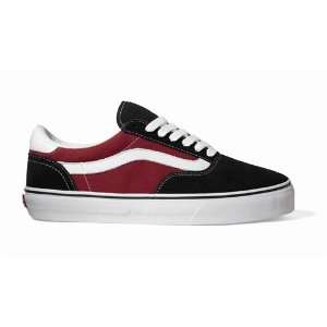 Vans Shoes Van Engelen AV6   Black/Deep Red/White:  Sports