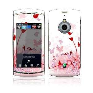 Sony Ericsson Vivaz Pro Skin Decal Sticker   Pink Butterfly Fantasy