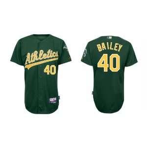 Wholesale Oakland Athletics #40 Andrew Bailey Green Baseball Jerseys