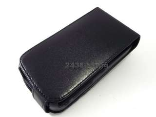 LEATHER FLIP CASE COVER for SAMSUNG OMNIA i8000 2 II