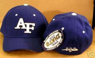 NCAA AF Air Force Fitted Sports cap   size 6 7/8