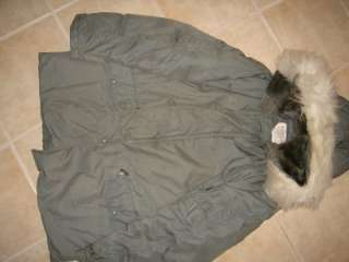 AIR FORCE USAF N 3B MEDIUM ECWCS COLD WEATHER PARKA