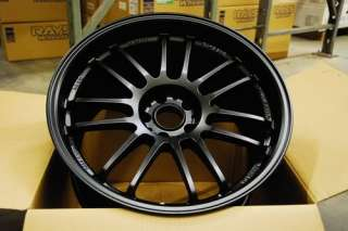 18 Volk Racing 18x9 5x114.3 +50 RE30 Matte Black (1) Wheel Rim Volks