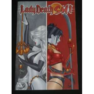 LADY DEATH SHI PREVIEW AVATAR COMIC BOOK BRIAN PULIDO
