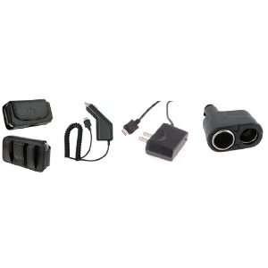 Holster+Dual Y Splitter Bundle For Verizon Casio Gzone Boulder Verizon
