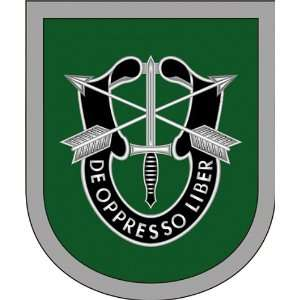US Army 1st Special Forces Command Flash Vinyl Decal