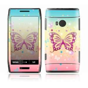 Butterfly Bling Design Decorative Skin Cover Decal Sticker