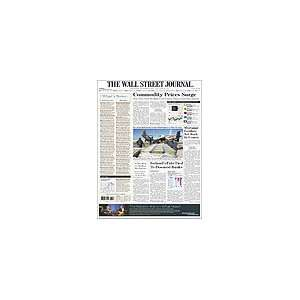 The Wall Street Journal (USA), foreign delivery, 1 year