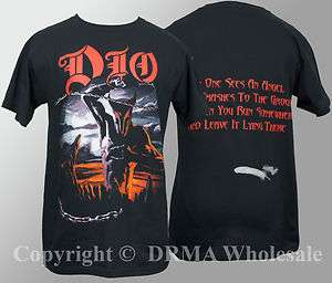 DIO Band Holy Diver T Shirt S M L XL Official NEW Ronnie James
