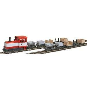 Big City Hobbies HOn30 MinitrainS Diesel Freight Loco w/10 Cars