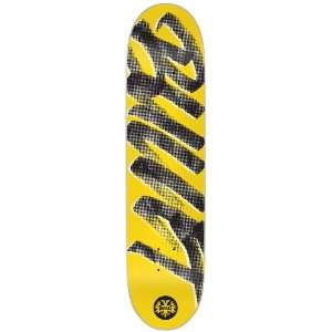 BULLET Signature Yellow Skate Deck 8.0 x 31.7: Sports