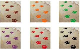 Bear Footprint Decor Mural Wall Sticker Decal 2 PACK S067 (various