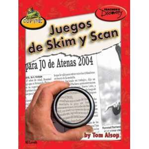 of Skim and Scan Spanish Activity Book Teachers Discovery Books