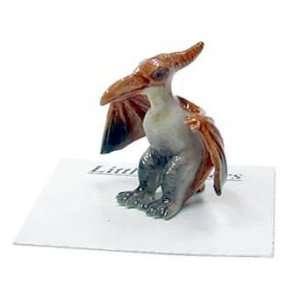 DINOSAUR Pterodactyl Astro New Figurine MINIATURE
