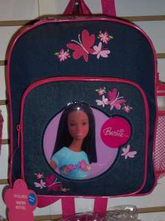 Large African American Black Barbie Backpack Bag New On. Barbie Ping Bag  Pink With Black Logo 5b0ef7063681e