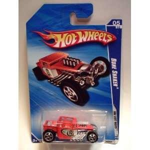 Hot Wheels 2010 HW Hot Rods 143/240 Bone Shaker  Orange 05
