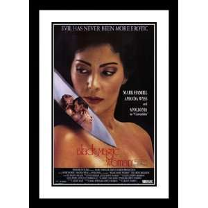 Black Magic Woman 32x45 Framed and Double Matted Movie Poster   Style