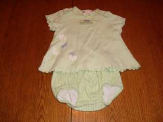 Year Summer dress set used Infant baby girl clothing clothes 9 months