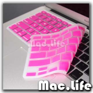PINK Keyboard Cover Skin Protector for Macbook Air 13