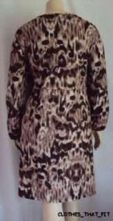 Plus Size Animal Print Dress Ulla Popken 24/26