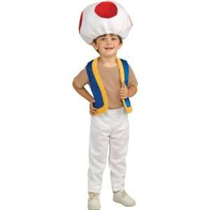 Lets Party By Rubies Costumes Super Mario Bros.   Toad Child Costume