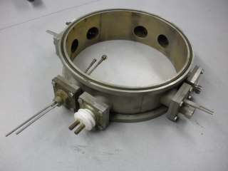 High Vacuum Feedthrough Collar, Stainless Steel Construction
