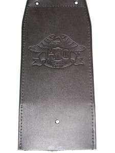 HARLEY DAVIDSON LEATHER TANK PANEL WITH HOG LOGO P/N 91003 03