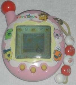 Bandai Tamagotchi Game  Pink White & Yellow 2004