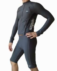 Womens Speedo Rash Guard Swimsuit Sun Protection 3XL