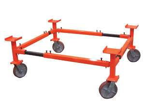 AutoTwirler Standard Auto Body Cart with 8 Casters