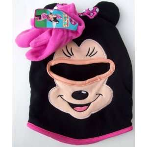 39fdfaecca0 ... Minnie Mouse Ski Mask and Mittens Set Mickey Mouse Clubhouse Disney ...