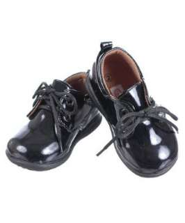 Patent Leather Oxford Booties (Infant/Toddler Boys Sizes 2   6) Shoes