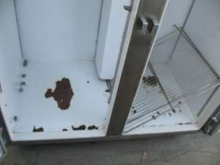 Lot of 2   TRUE Single Door Freezer Stainless Steel   Beverage Air