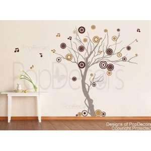 Vinyl wall decals stickers for living room art studio