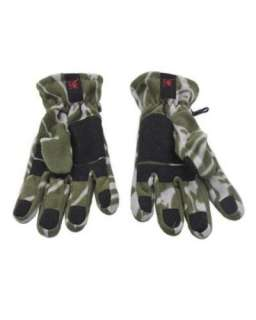 NWT ED HARDY MENS LIVE TO RIDE WINTER FLEECE GLOVES L