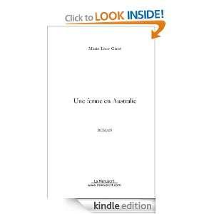 Une ferme en Australie (French Edition) Marie luce Girot