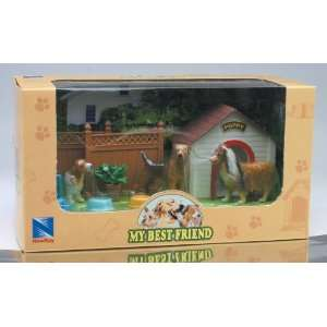 My Best Friend Dog Playset Sheltie with Dog House with