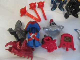 Lot Fisher Price Imaginext Figures Horse Knights Men Carriage Castle