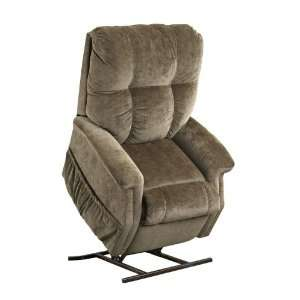 Reclining Lift Chair Fairview by Microfibers Camel