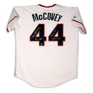 Willie McCovey San Francisco Giants Autographed Cream Jersey with ROY