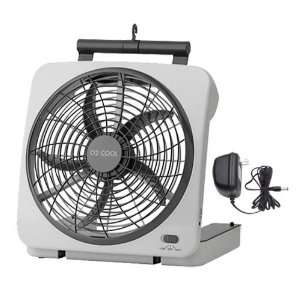 10 BATTERY OPERATED INDOOR/OUTDOOR FAN with ADAPTER:  Home