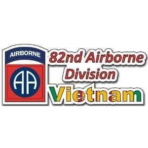 United States Army 82nd Airborne Division Vietnam Decal Bumper Sticker