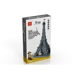 EIFFEL TOWER of PARIS, FRANCE   BUILDING BLOCKS 978 pcs